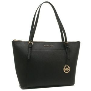 Ciara Large East West Top Zip Tote Saffiano